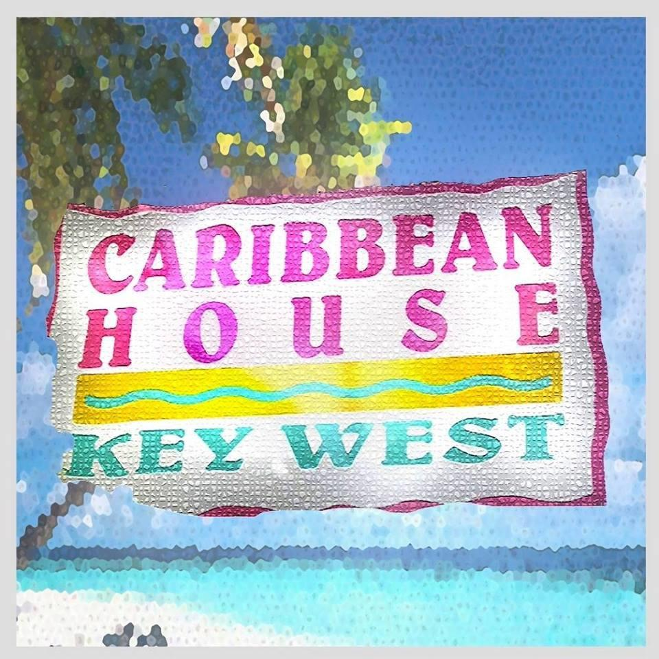 Sign for Caribbean House